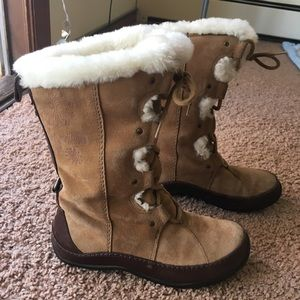 North Face Shearling Winter Boots 6.5